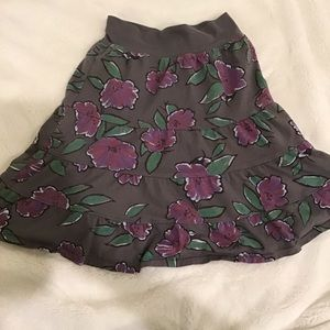 Fresh produce women's skirt, size XS